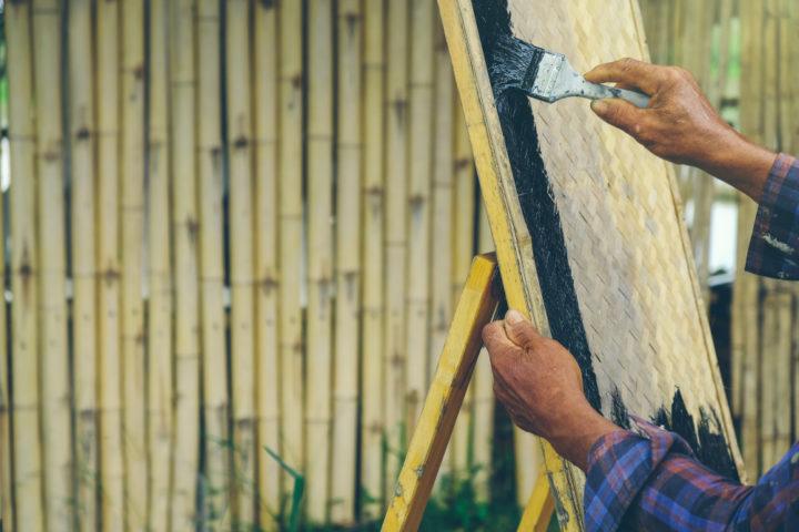 bambus-streichen