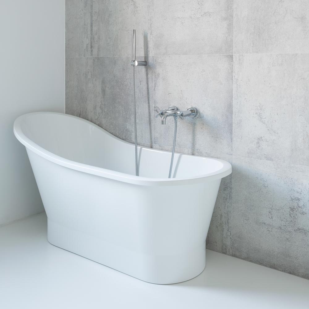 Betonwand im Bad » Die Vor  und Nachteile