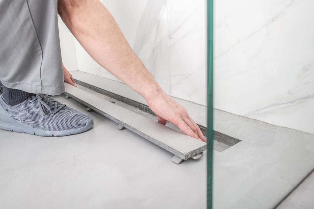 Bodengleiche Dusche Den Abfluss richtig verlegen
