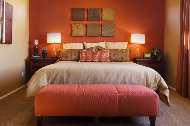 Schlafzimmer warme farben  Welche Farbe für das Schlafzimmer » Tipps im Überblick