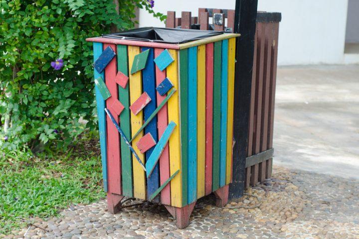 Mülltonnenverkleidung Anleitung