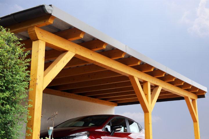 carport-mit-blechdach