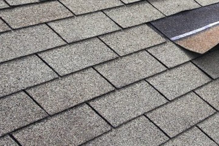 Dachpappe besandet