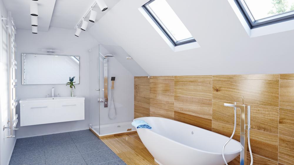 Dusche In Dachschrage Wissenswertes Zur Verkleidung