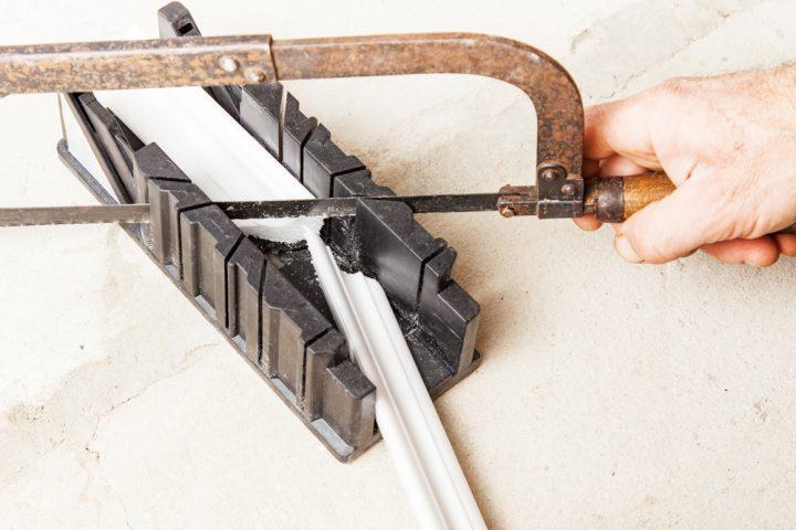 Beliebt Deckenleisten aus Styropor » So schneiden Sie die Ecken TW94