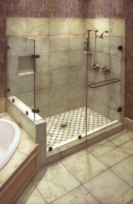 dusche ebenerdig einbauen anleitung zum fachgerechten einbau. Black Bedroom Furniture Sets. Home Design Ideas