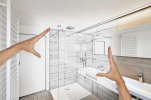 dusche-planen