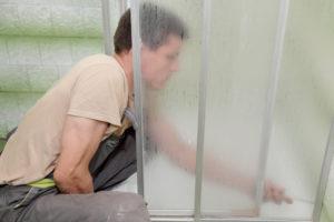 duschkabine-schiebetuer-reparieren