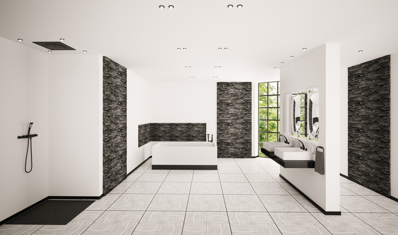 flache dusche selber einbauen. Black Bedroom Furniture Sets. Home Design Ideas