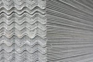 Wellplatten aus Eternit