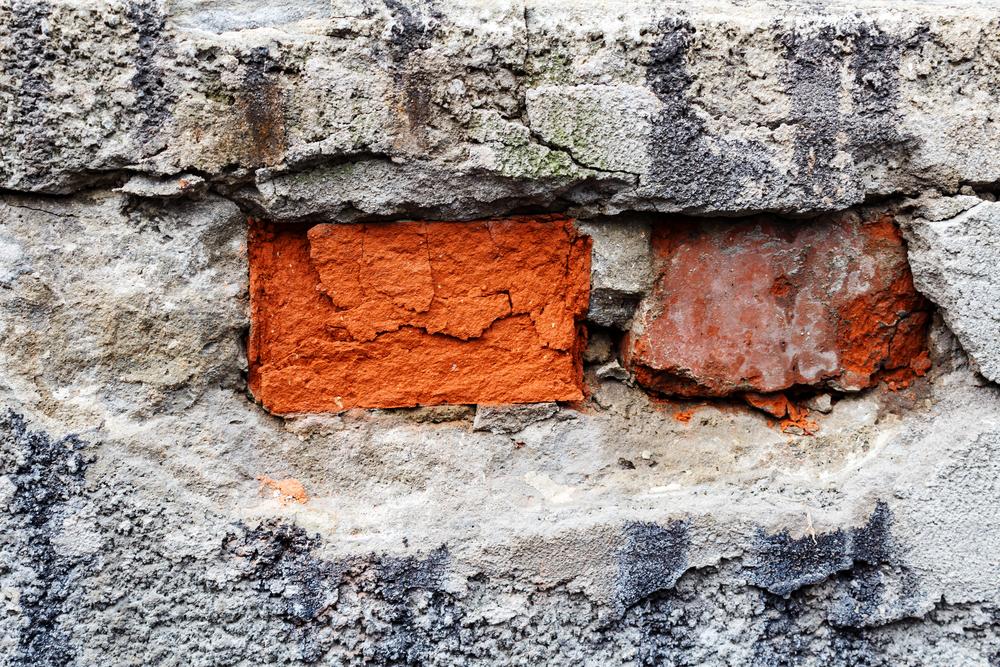 Häufig Loch in der Fassade ausbessern » So geht's QF82