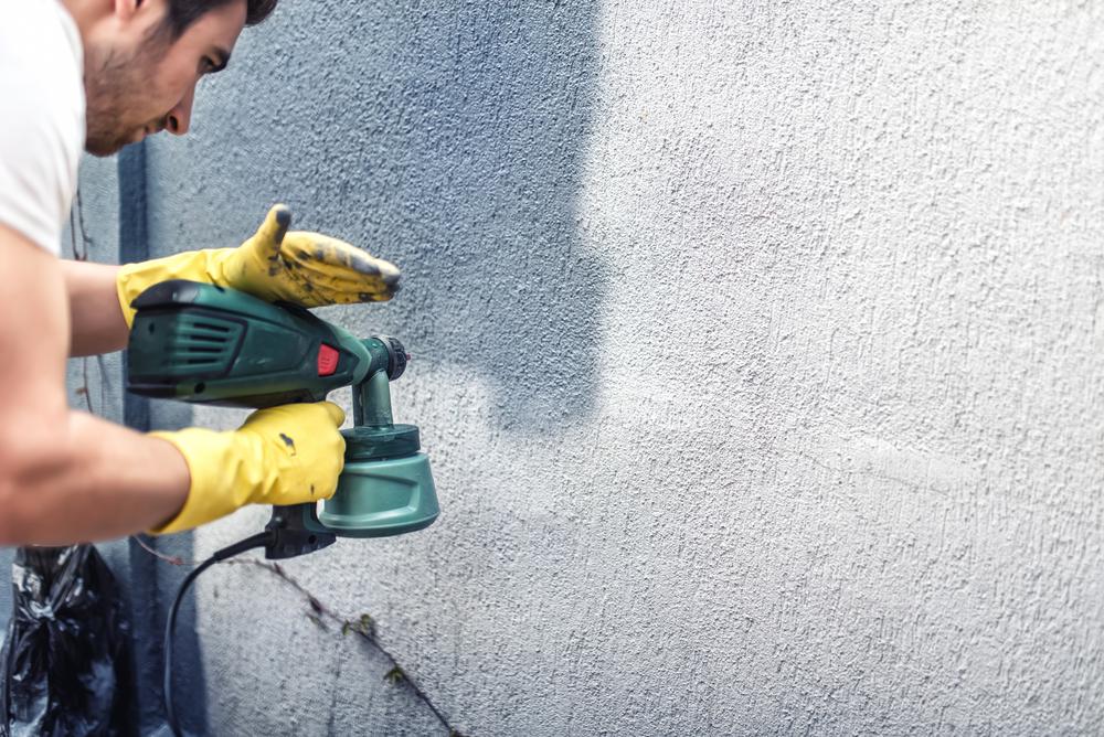 Fassade Spritzen Statt Streichen Die Vorteile