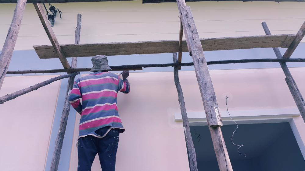Fassadenanstrich So Machen Sie Alles Richtig