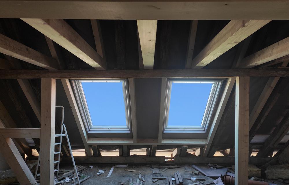 Fenster In Dachschrage Einbauen Hinweise Und Fensterarten