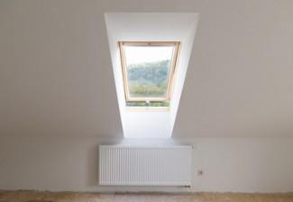 dachschrge - Tapezieren Fenster