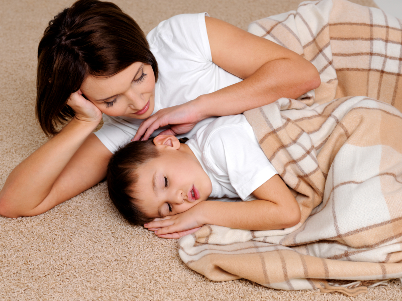 Fußbodenheizung im Kinderzimmer » Vor- & Nachteile