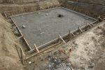 Fundament bauen