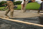 Fundament betonieren