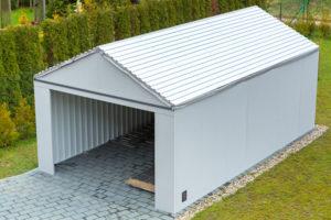 garage-ueberdachung-trapezblech
