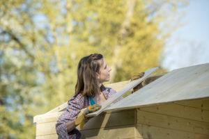 gartenhaus-dach-bauen