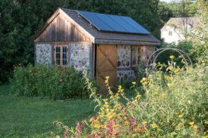 gartenhaus-dach-isolieren