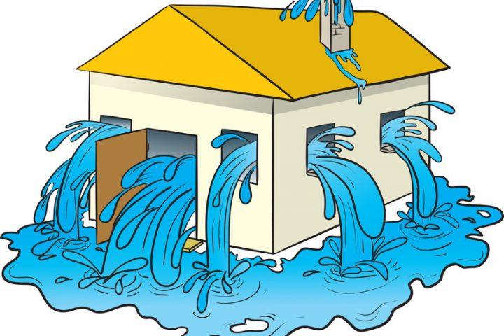 Gebäudeversicherung Wasserschaden - Was wird übernommen?