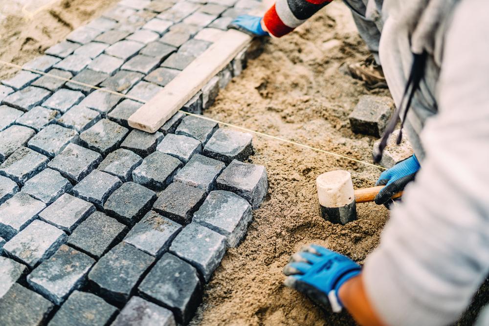 granitpflaster verfugen  gehts wasserdurchlaessig