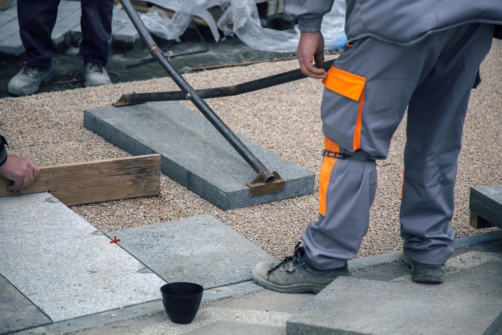Granitplatten In Splitt Verlegen So Wird S Gemacht