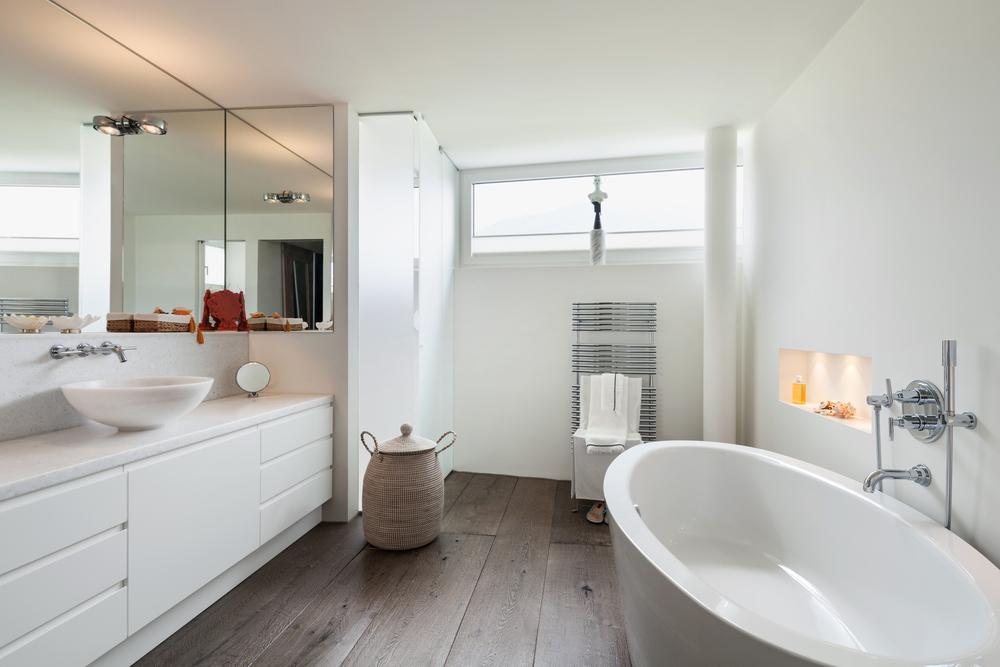 Holzboden Im Bad So Schutzen Sie Ihn Richtig