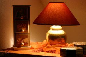 Lampenschirm aus Stoff selber basteln