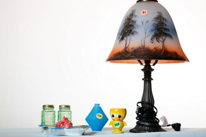 Lampenschirm anmalen