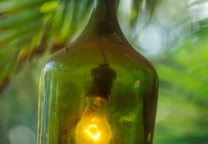 Lampe Aus Flaschen Bauen Anleitung In 5 Schritten