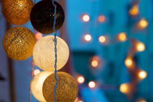 Lampenschirme aus Strippe