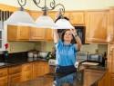 Lampenschirm sauber machen