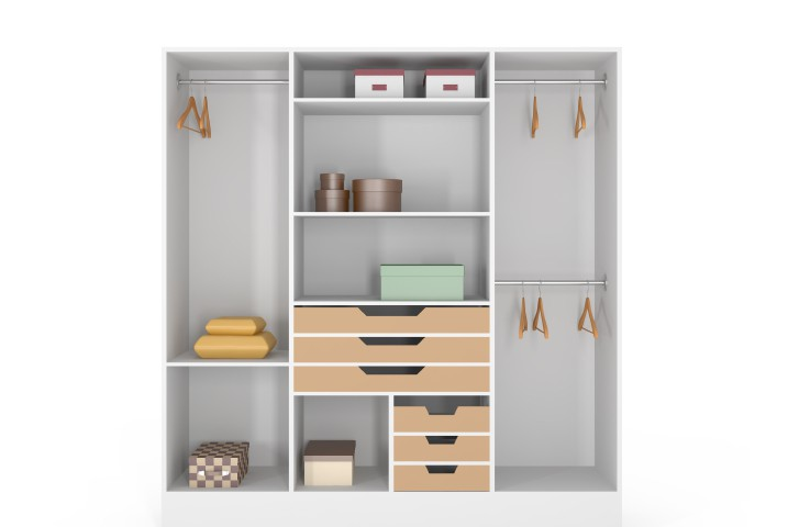 kleiderschrank kreativ. Black Bedroom Furniture Sets. Home Design Ideas