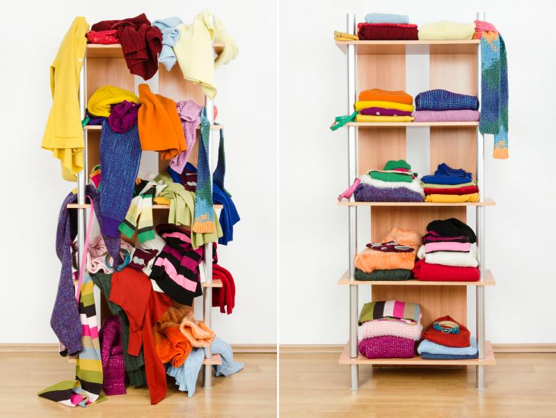 ordnung im kleiderschrank tipps tricks. Black Bedroom Furniture Sets. Home Design Ideas