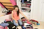 Kleiderschrank sauber machen