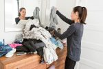 Kleiderschrank sortieren