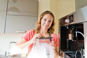 Kaffeevollautomat sauber machen