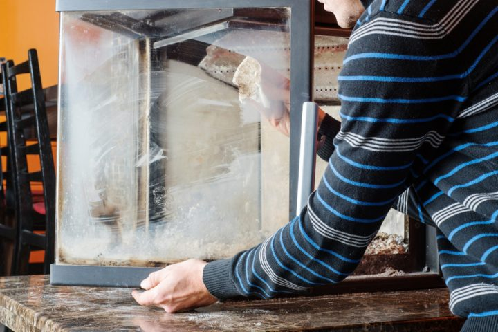 Relativ Kamin-Glas reinigen » So wird es richtig sauber OB22