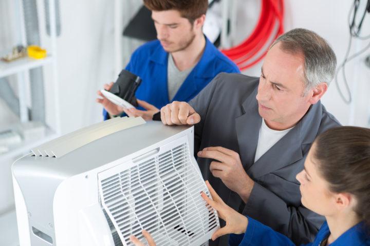 mobile-klimaanlage-wartung