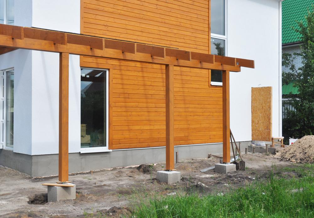 pfosten auf beton befestigen diese m glichkeiten gibt 39 s. Black Bedroom Furniture Sets. Home Design Ideas