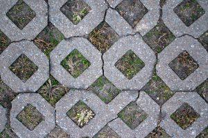 Gebrauchte Rasengittersteine