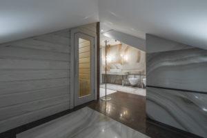sauna-dachboden