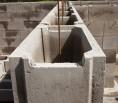 Schalsteine Stützmauer