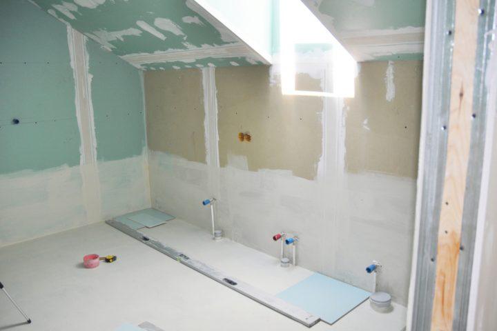 Streichputz im Bad » Grundierung, Vorbereitung und mehr
