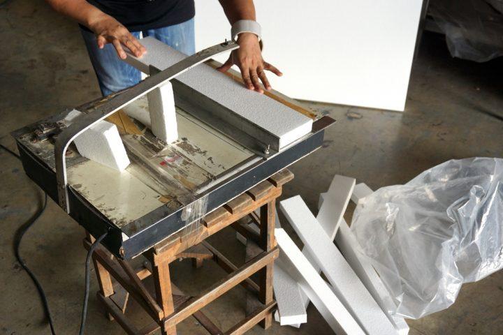 Relativ Styropor bearbeiten » So schneiden und bohren Sie richtig MU23