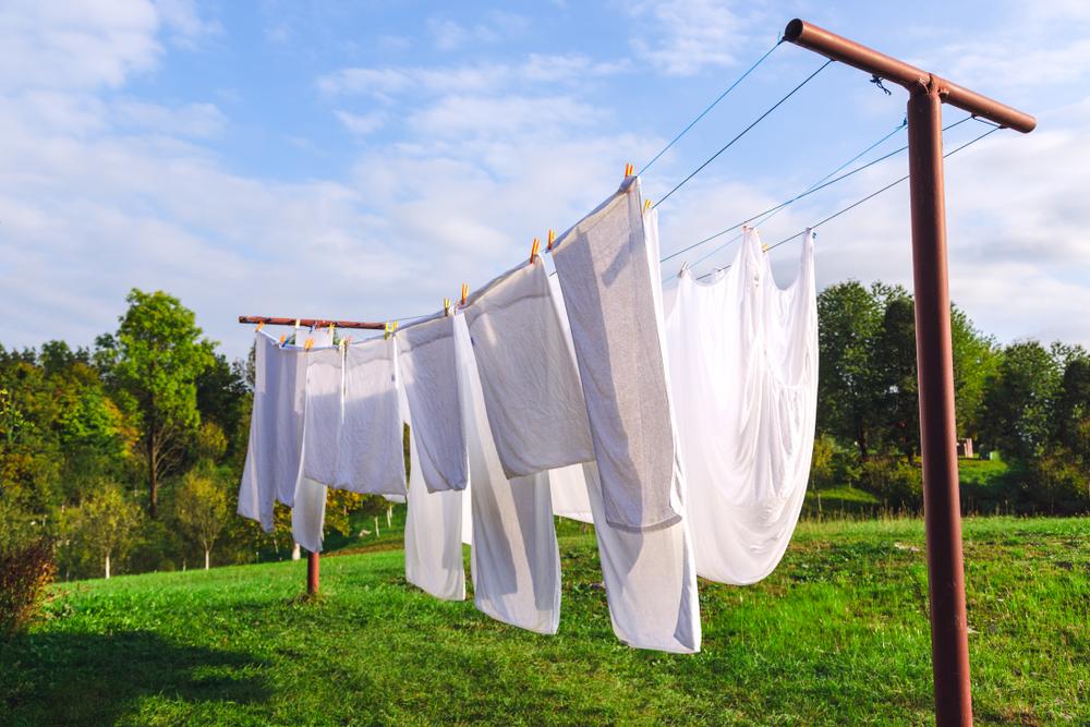 Wäscheleine selber bauen » Anleitung in 5 Schritten