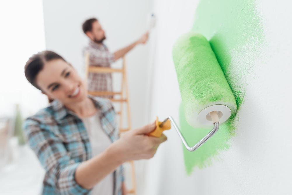 wand streichen welche farbe bietet sich an. Black Bedroom Furniture Sets. Home Design Ideas